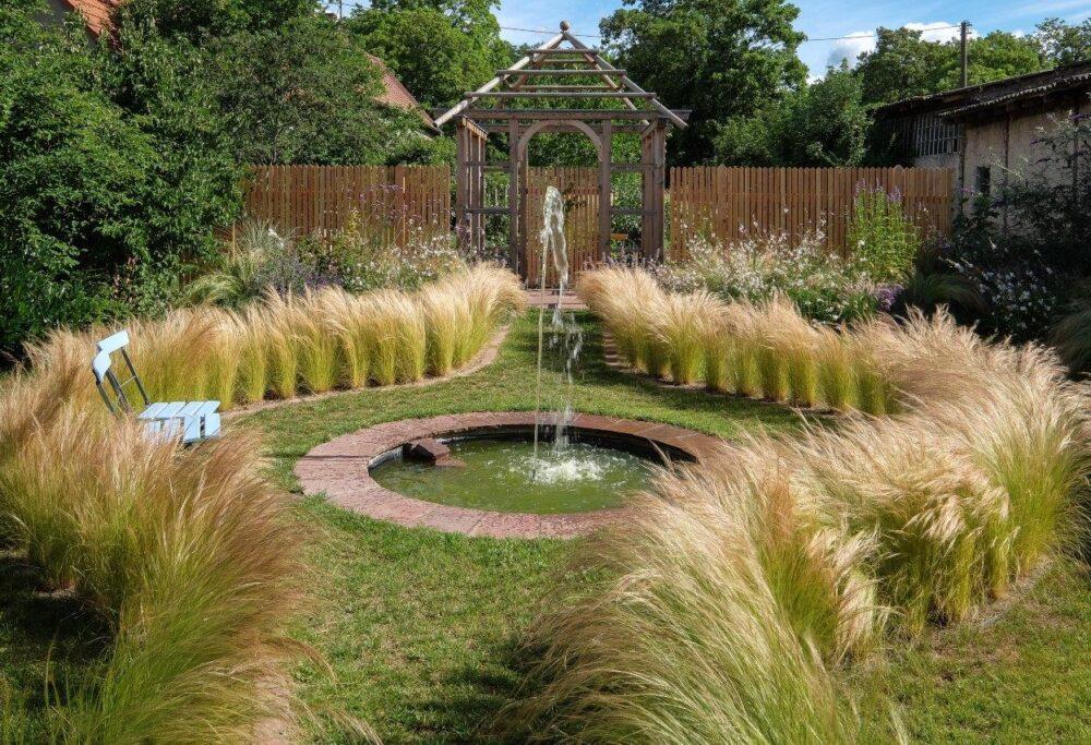 Wassergarten Brunnen