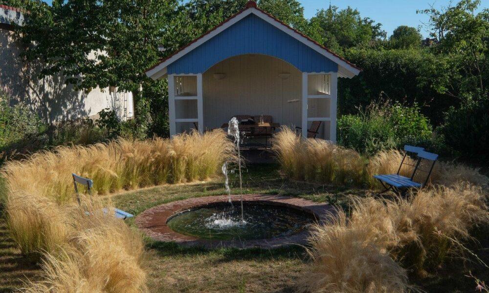Wassergarten Haus